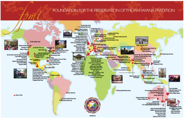 FPMT map