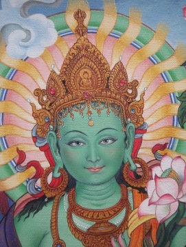 Green Tara - from Colleen